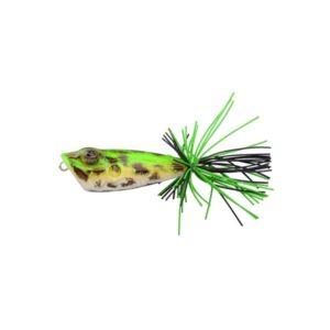 Señuelo de superficie Ikiru Hard Frog de Spro Amazon Horned