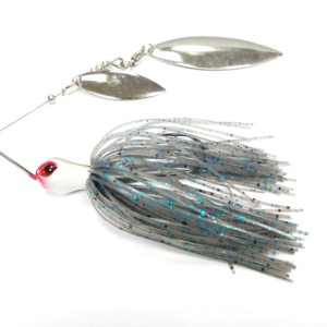 Spinnerbaits de Tungsteno Smoke 3/8 oz