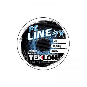 Hilo de pescar trenzado 4 hebras Teklon Pe Line