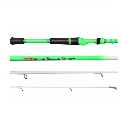 Duckett Fishing Green Ghost Spinning 6'9 Medium Fast