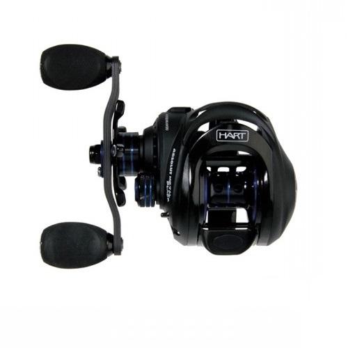 Carrete de pescar Hart Absolut Metal Black 5.1:1