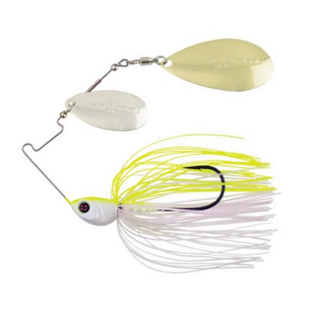 Spinnerbaits Sakura Cajun 3/8 oz Doble Pala
